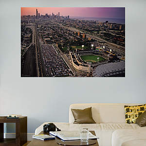 Comiskey Park Skyline Mural Fathead Wall Decal
